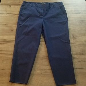 Talbots cropped pants NWOT